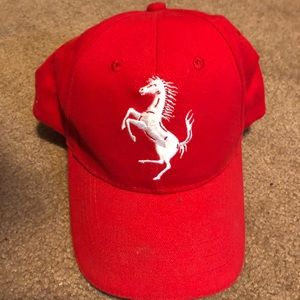 Other - Ferrari red hat
